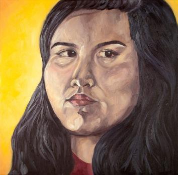 Nikki Evangelista--Self-Portrait