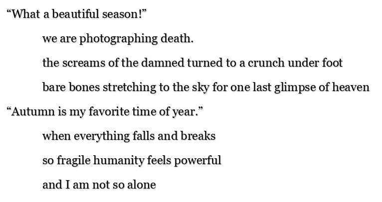 vita poem